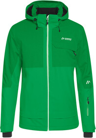 THE NORTH FACE Cad Veste W trellis vert radiant orange